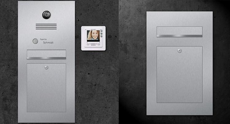 Mailbox and Door Bell
