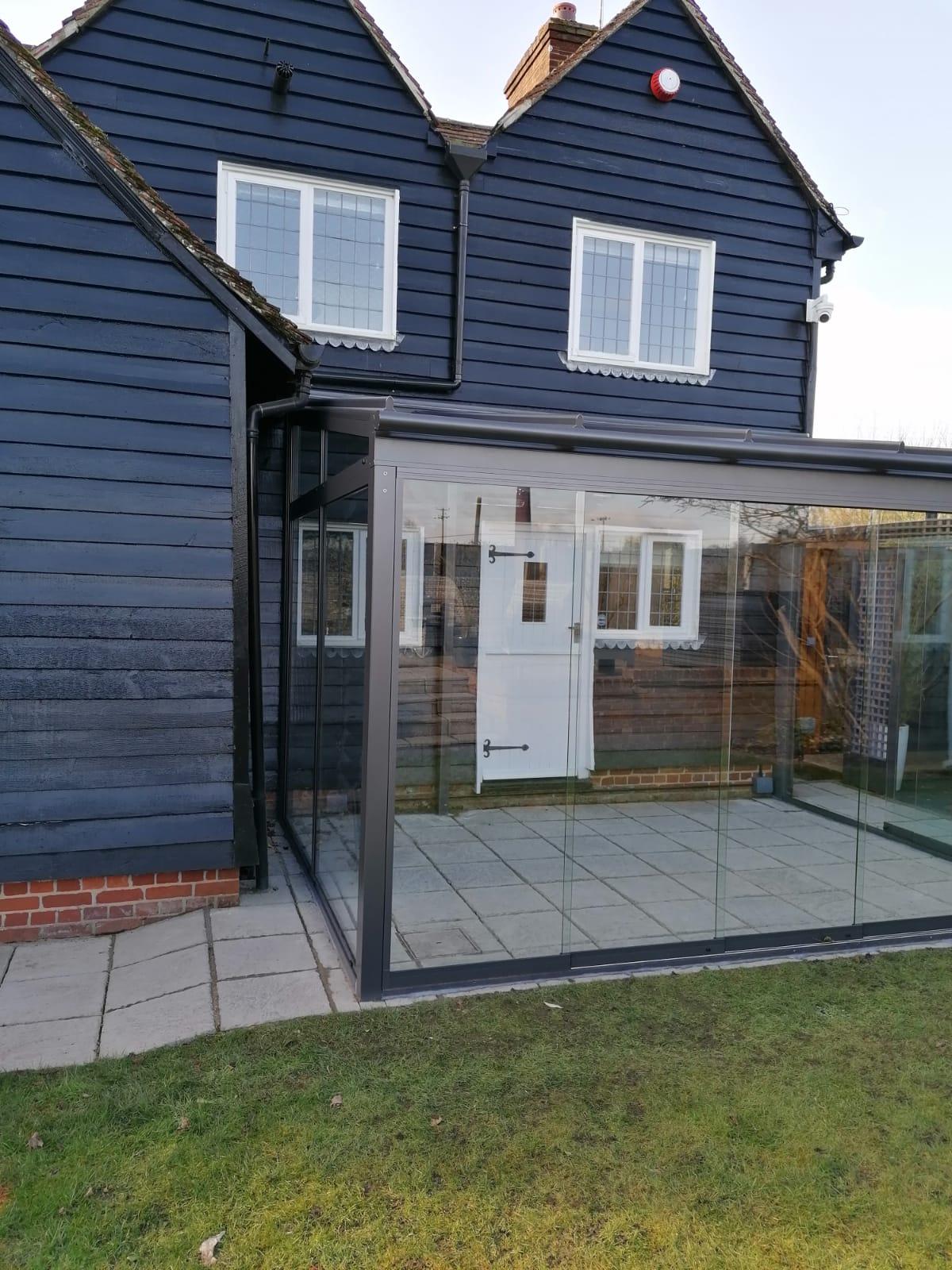 Glass Room Hertfordshire
