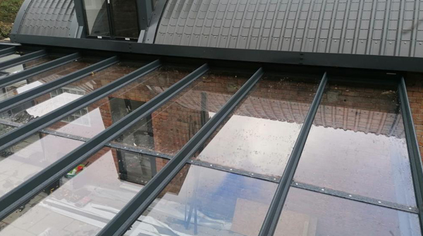 Commercial Glass Veranda