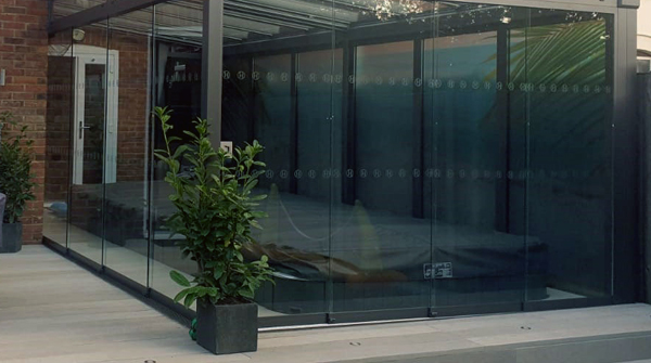 Swim Spa Glass Room
